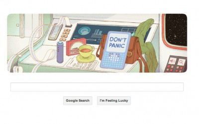 Google pays tribute to Douglas Adams for his 61st birthday